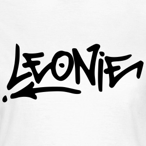 Graffiti Leonie T-Shirts - Frauen T-Shirt