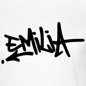 Graffiti Emilia T-Shirts - Frauen T-Shirt