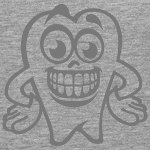 tooth smiley drawing 17 Long sleeve shirts - Men's Premium Longsleeve Shirt