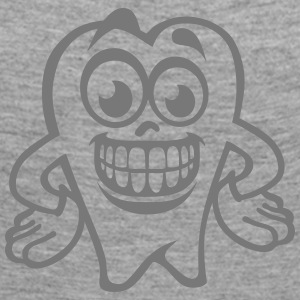 tooth smiley drawing 17 Long Sleeve Shirts - Women's Premium Longsleeve Shirt