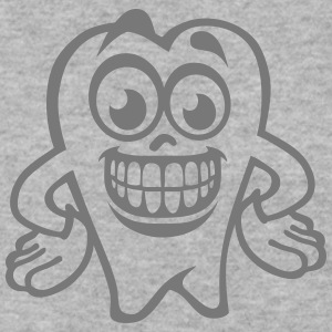 tooth smiley drawing 17 Hoodies & Sweatshirts - Men's Sweatshirt