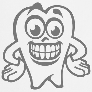 tooth smiley drawing 17  Aprons - Cooking Apron