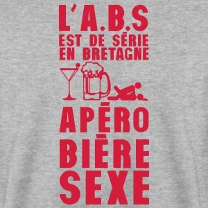 bretagne abs serie apero biere sexe hum Sweat-shirts - Sweat-shirt Homme