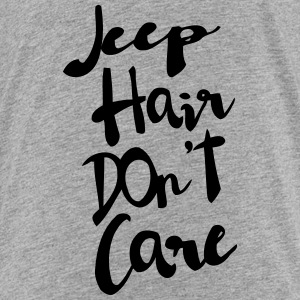 CHEAP HAIR - I DON'T CARE T-shirts - Premium-T-shirt barn