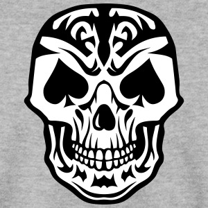 tete mort pique pic poker carte skull Sweat-shirts - Sweat-shirt Homme