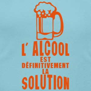 alcool definitivement solution biere Tee shirts - T-shirt col rond U Femme