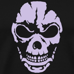 Tribal skull head 5090 T-Shirts - Men's Premium T-Shirt