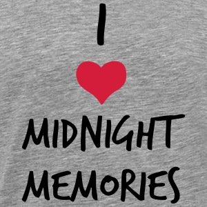 I LOVE MIDNIGHT MEMORIES Tee shirts - T-shirt Premium Homme