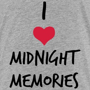 I LOVE MIDNIGHT MEMORIES Shirts - Teenage Premium T-Shirt