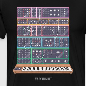 Modular Synth T-Shirts - Men's Premium T-Shirt