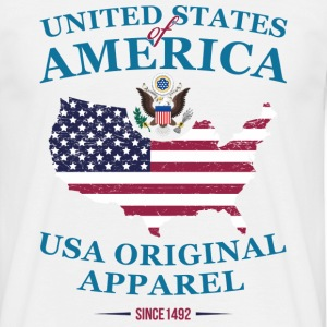 UNITED STATES OF AMERICA T-Shirts - Männer T-Shirt