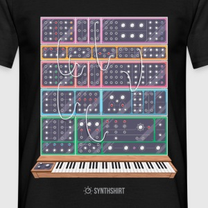 Modular Synth T-Shirts - Men's T-Shirt