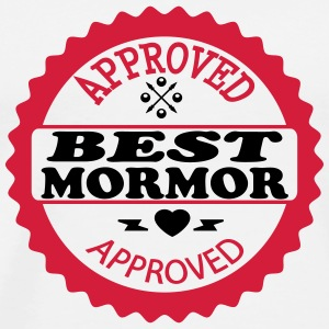 Approved best mormor T-skjorter - Premium T-skjorte for menn