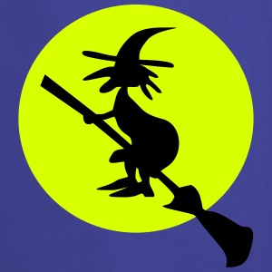 witch and full moon Grembiuli - Grembiule da cucina