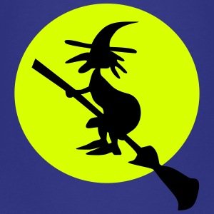 witch and full moon Shirts - Teenage Premium T-Shirt