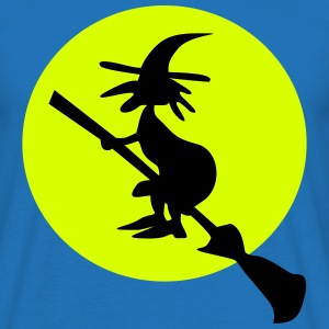 witch and full moon T-shirts - T-shirt herr