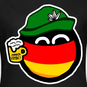 Germanyball T-Shirts - Dame-T-shirt