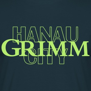 T-Shirt Grimm City Hanau, Brothers Grimm - Men's T-Shirt