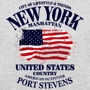 New York - USA Vintage Flag Pullover & Hoodies - Unisex Hoodie