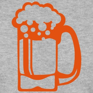 Beer glass alcohol foam 15093 Hoodies & Sweatshirts - Men's Sweatshirt