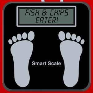 Smart Scales - Fish & chips Hoodies & Sweatshirts - Contrast Colour Hoodie