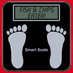 Smart Scales - Fish & chips T-Shirts - Women's T-Shirt