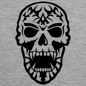 Skull Tribal head death 15097 Sports wear - Men's Premium Tank Top