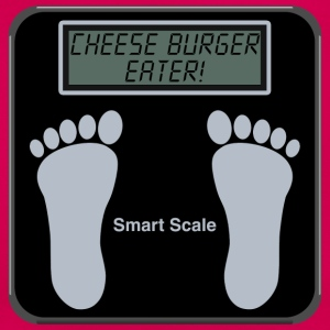 Smart Scales - Cheese burger T-Shirts - Women's T-Shirt
