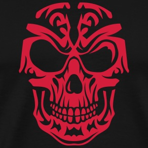 Skull Tribal head death 15096 T-Shirts - Men's Premium T-Shirt