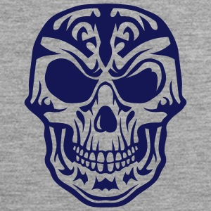 Skull Tribal head death 15095 Sports wear - Men's Premium Tank Top