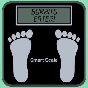 Smart Scales - Burrito T-Shirts - Women's T-Shirt
