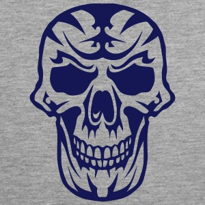 Skull Tribal head death 15093 Sports wear - Men's Premium Tank Top