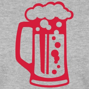 Beer glass alcohol foam 1509 Hoodies & Sweatshirts - Men's Sweatshirt