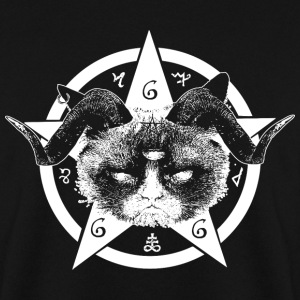 Grumpy Occult Cat Felpe - Felpa da uomo