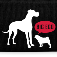 Motiv ~ Big Ego Mops Winter Mütze