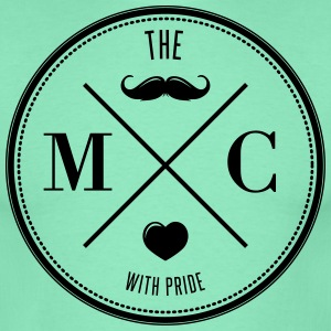 The Movember Moustache Club with pride T-shirts - Mannen T-shirt
