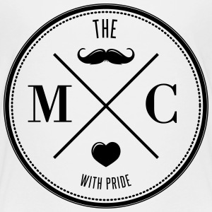The Movember Moustache Club with pride T-shirts - Premium-T-shirt tonåring