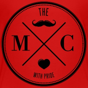 The Movember Moustache Club with pride Skjorter - Premium T-skjorte for tenåringer