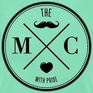 The Movember Moustache Club with pride T-shirts - T-shirt dam