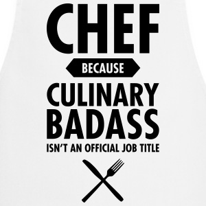 Chef - Culinary Badass  Aprons - Cooking Apron