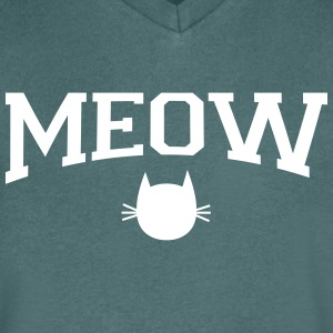 Meow T-Shirts - Men's V-Neck T-Shirt