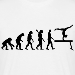 Evolution Turnen T-Shirts - Männer T-Shirt