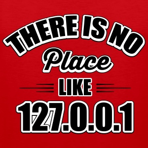 there's no place like 127.0.0.1 Tank Tops - Herre Premium tanktop