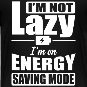 I'm not lazy. I'm on energy saving mode Shirts - Teenager Premium T-shirt