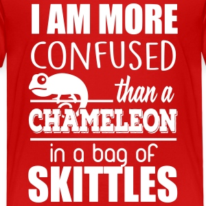 I'm confused like an cameleon in a bag of skittles Tee shirts - T-shirt Premium Enfant