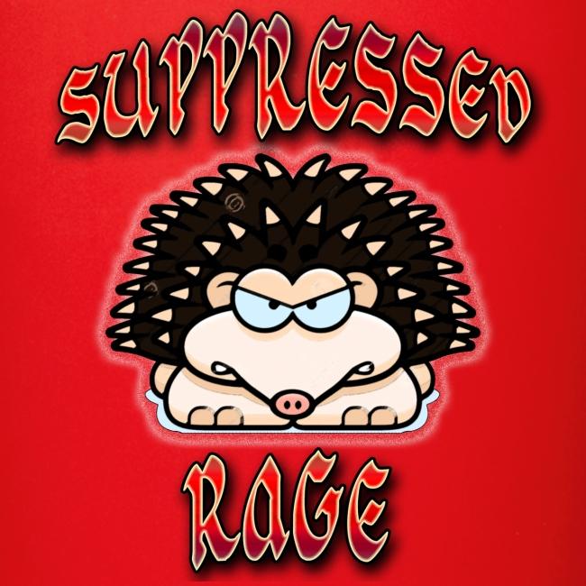 Suppressed Hedgehog Rage Color Mug