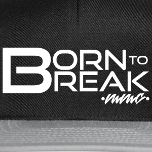 Born to break - white Cappelli & Berretti - Snapback Cap