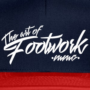 The art of footwork - white Cappelli & Berretti - Snapback Cap
