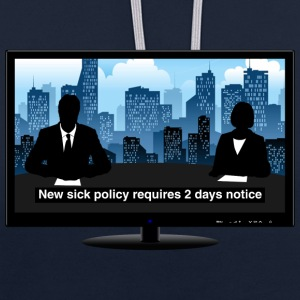 TV news - Notice Hoodies & Sweatshirts - Contrast Colour Hoodie