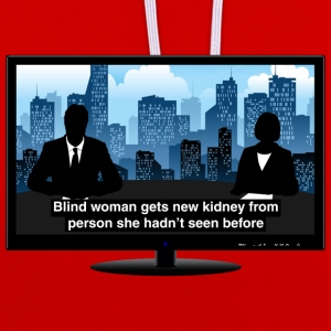TV news - Kidney Hoodies & Sweatshirts - Contrast Colour Hoodie